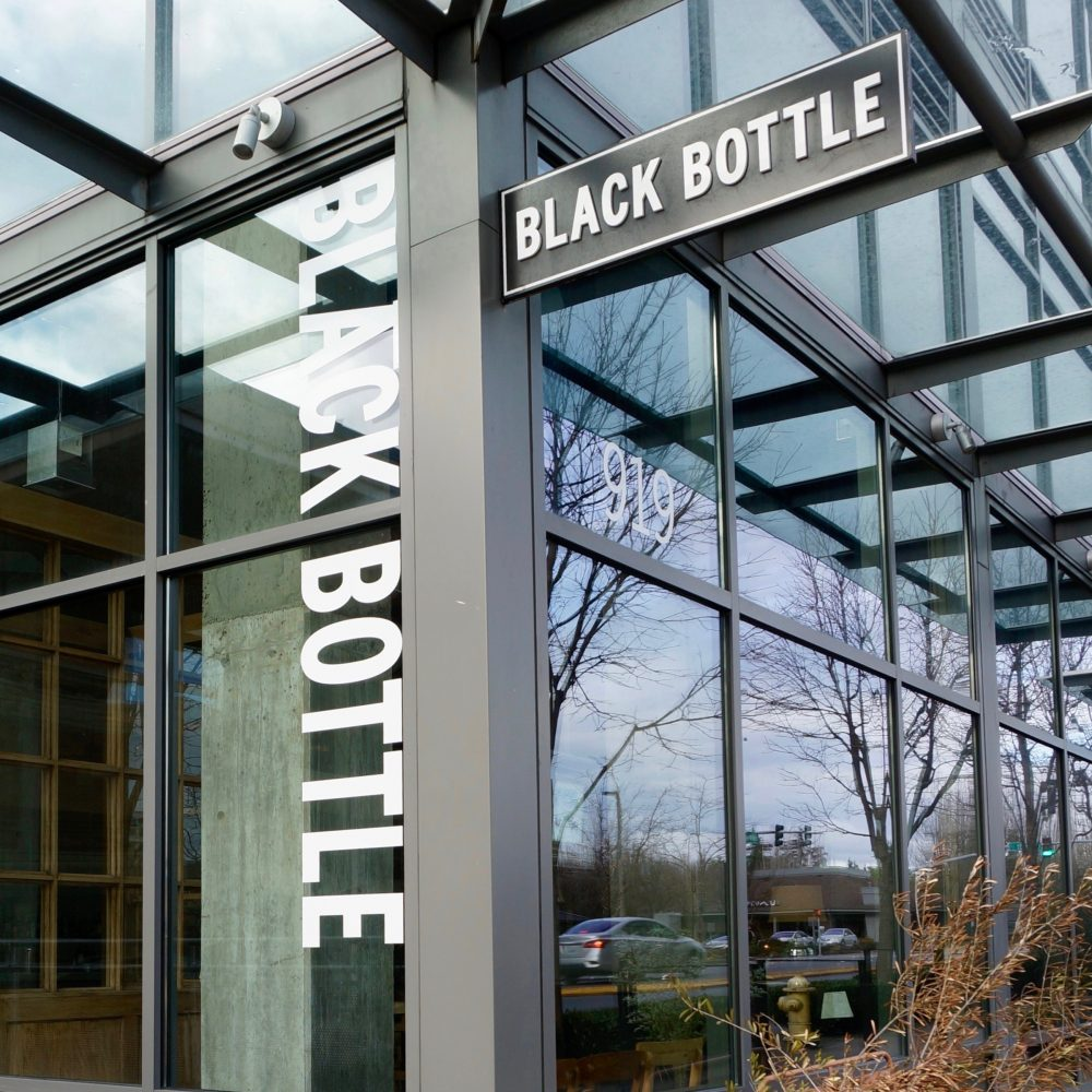 Black Bottle Restaurant in Bellevue WA