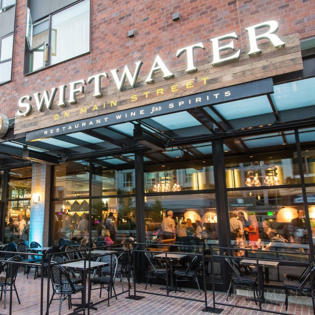 Dining in Bellevue on Old Main Swiftwater Cellars American Food